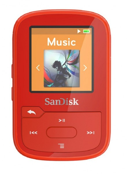 SanDisk Clip Sport Plus 16Gb Red